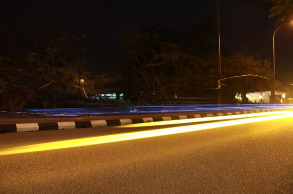 Light Trails, Night