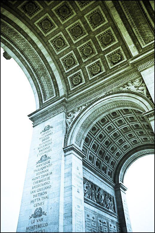 ParisUnderTheArch