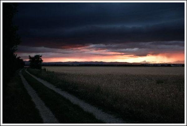 SunsetOverTheLand