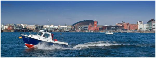 A trip acroos Cardiff Bay