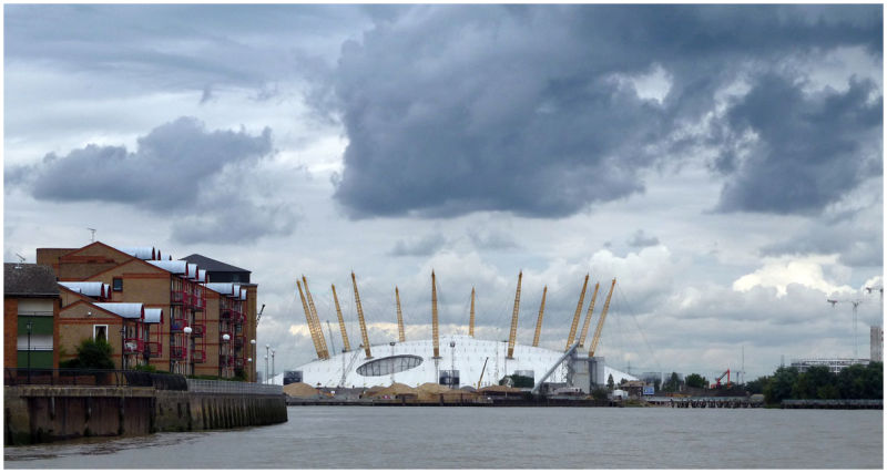 The Dome from the Thames