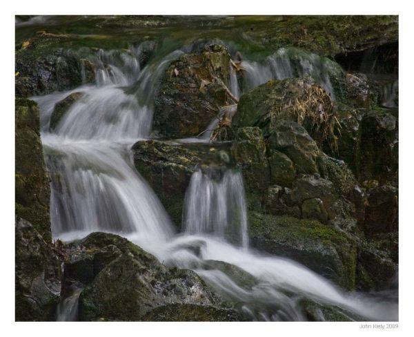 taken in the stream at cwm bychan