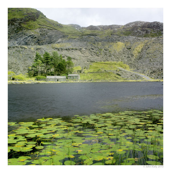 colourlandscape photograph of llyn cwmorthin