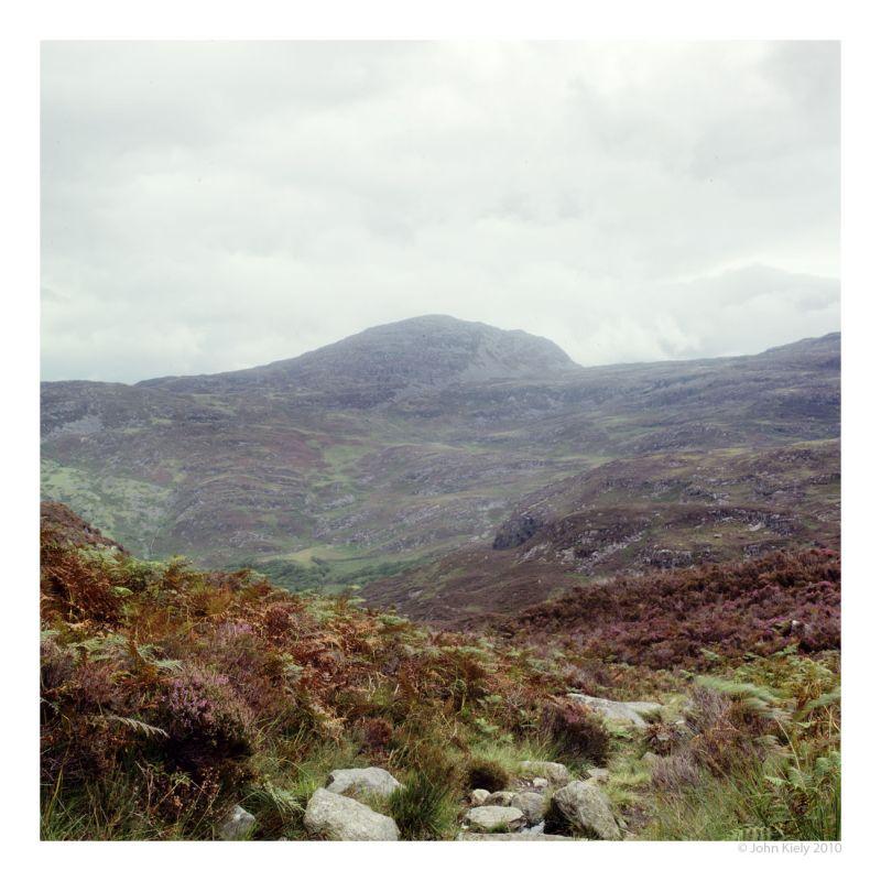 Colour landscape photograph from cwm bychan