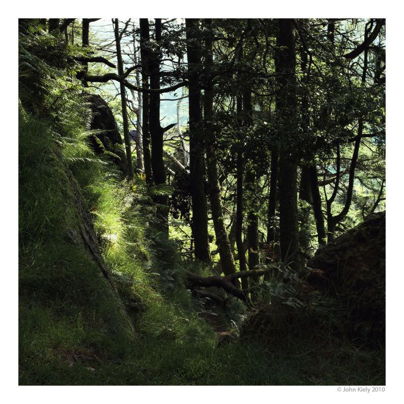 Colour landscape photograph of nant gwynant