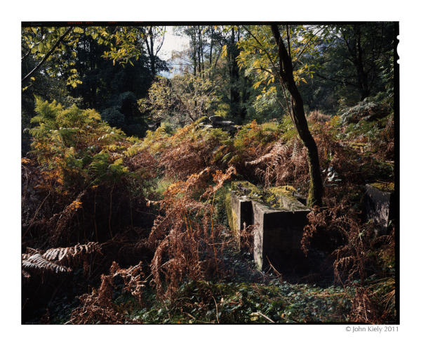 Abandoned copper mines in Cwm Bychan, North Wales.