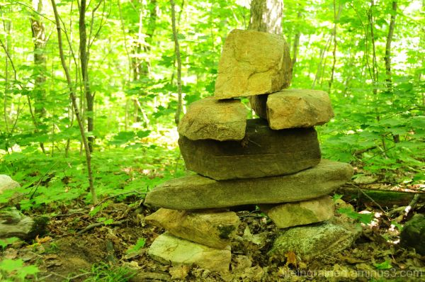 What are you trying to tell us, O Inukshuk?