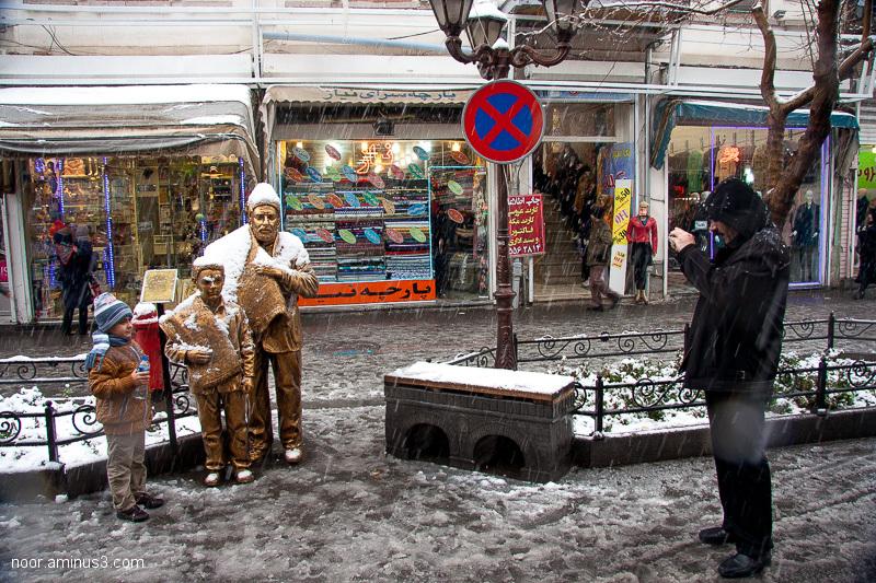 Tabriz Snow