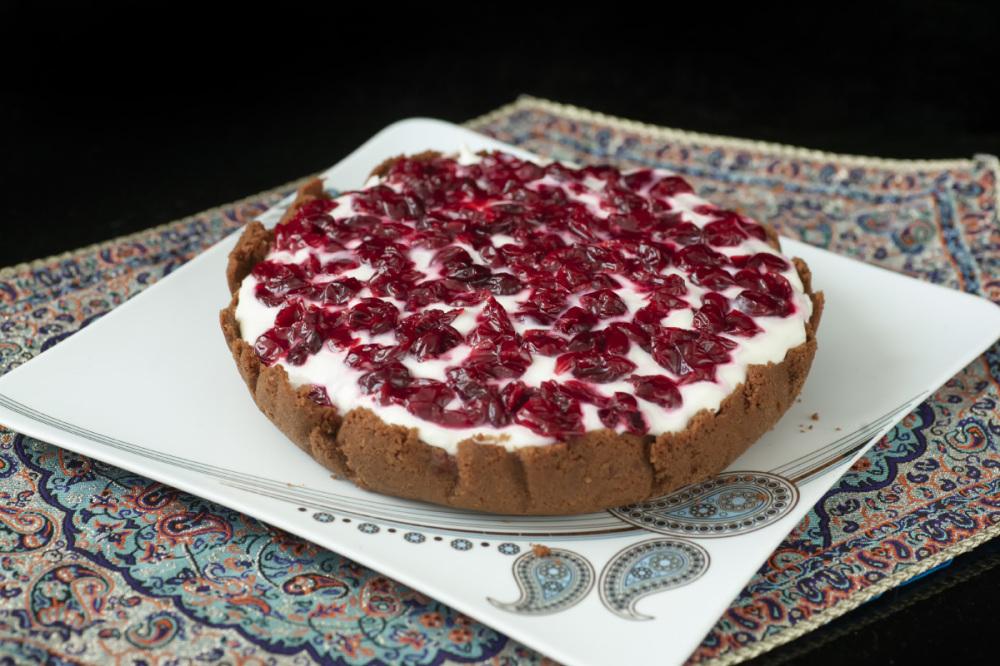 sour cherry cheesecake
