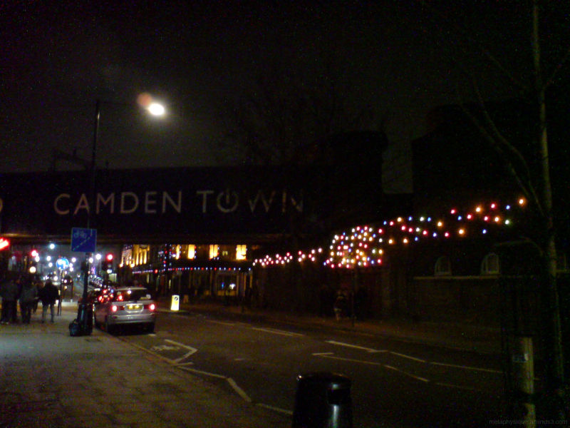 Camden, night