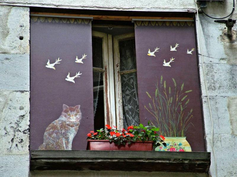 Miaou, miaou.....mélodie féline.
