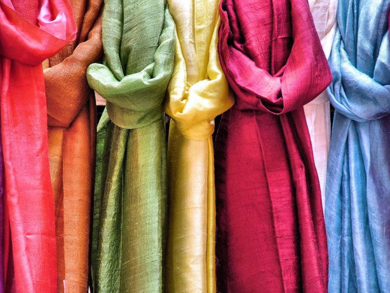une écharpe pour chaque jour.....