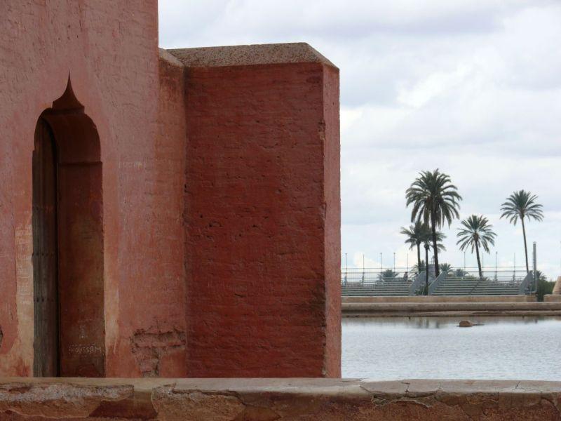 Pavillon sur la Ménara