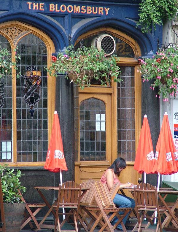 Journal de voyage à Bloomsbury