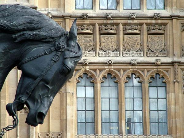 La maison du parlement.