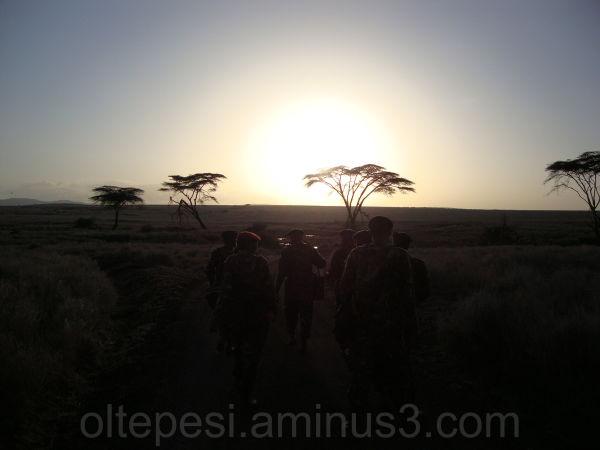 Lewa Sunset