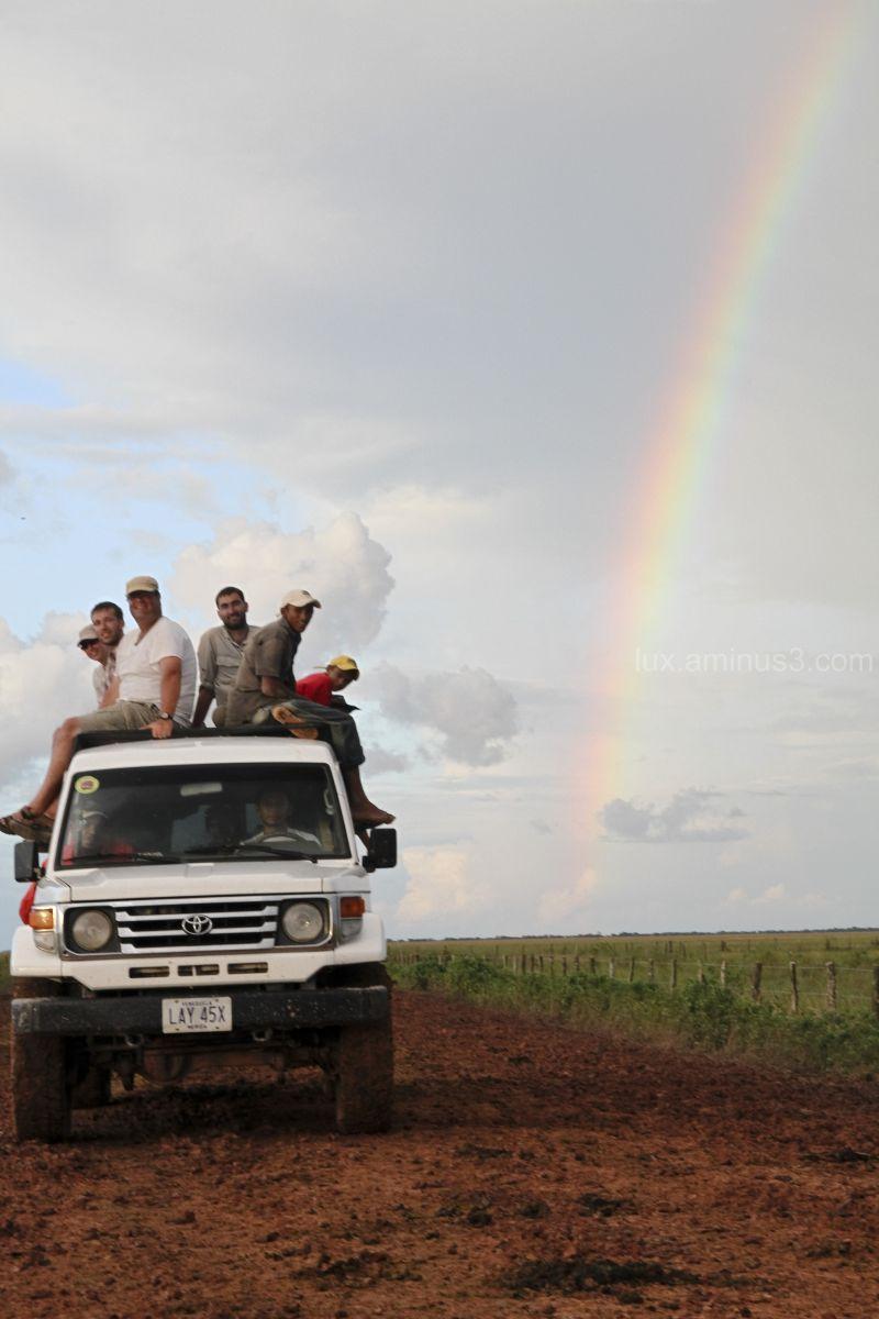 Los-Llanos tour rainbow Venezuela