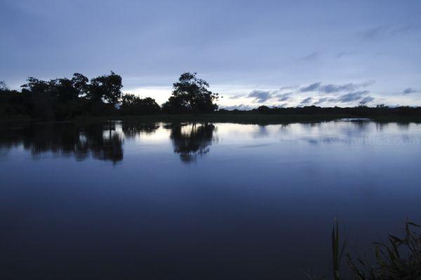 lakelike river