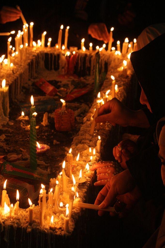 شام غریبان محرم عاشورا shia sham-e ghariban candle