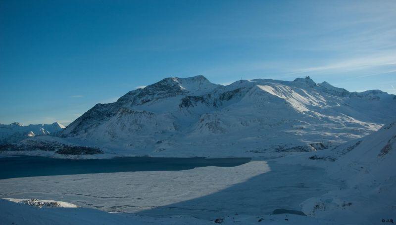 Lac du Mont Cenis ... en Hiver