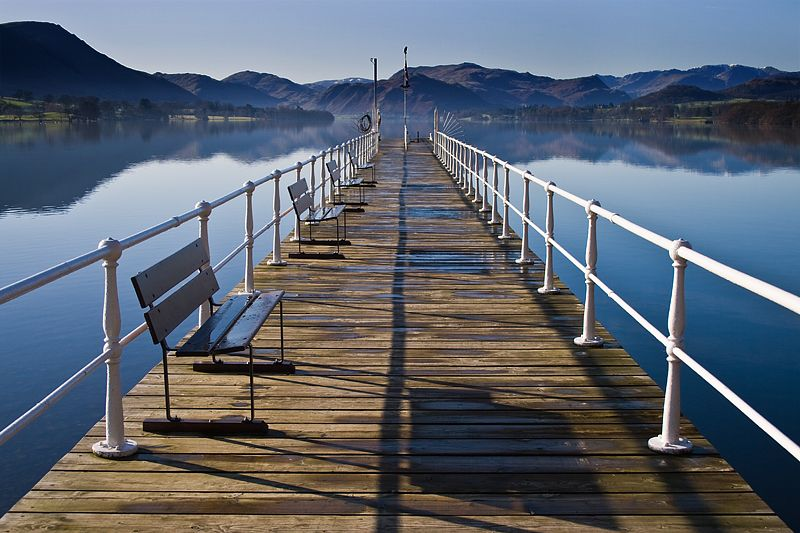 Pier at Ullswater, Lake District
