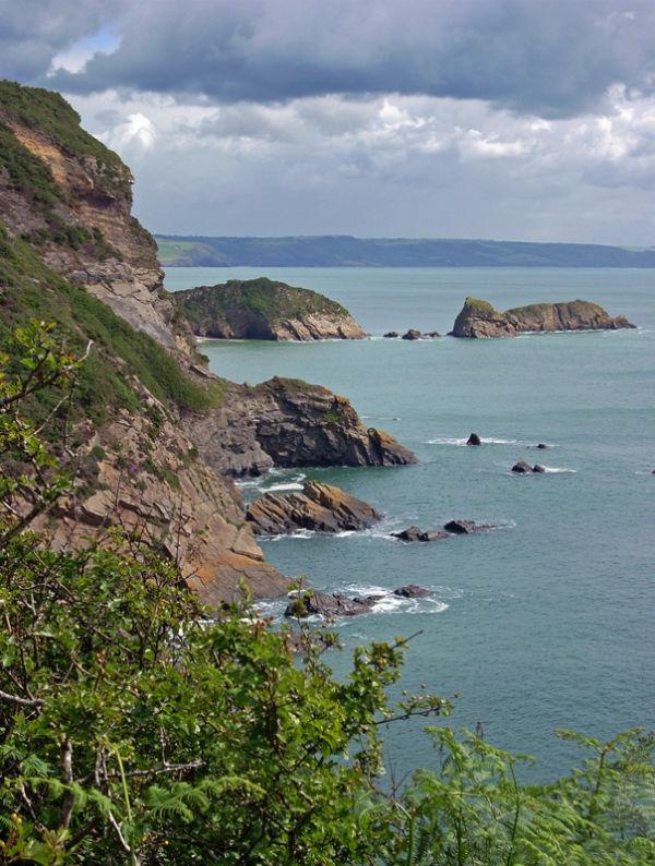 Pembroke coastal walk