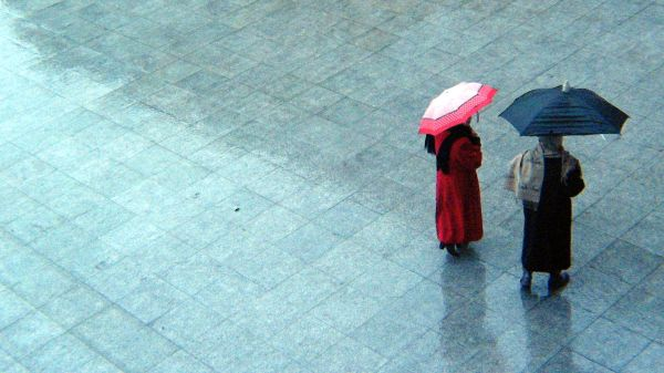 debajo de la lluvia