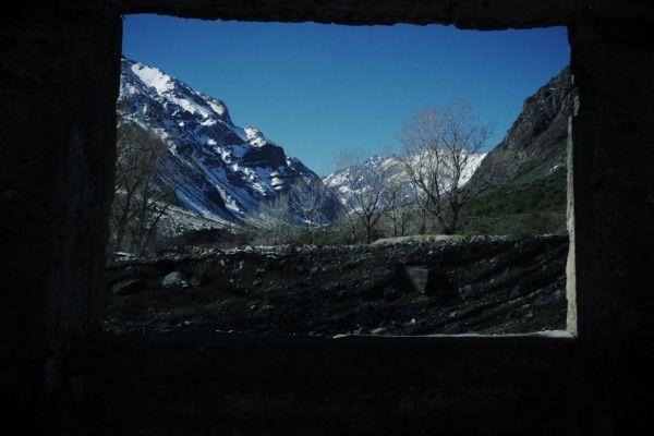 paisaje enmarcado