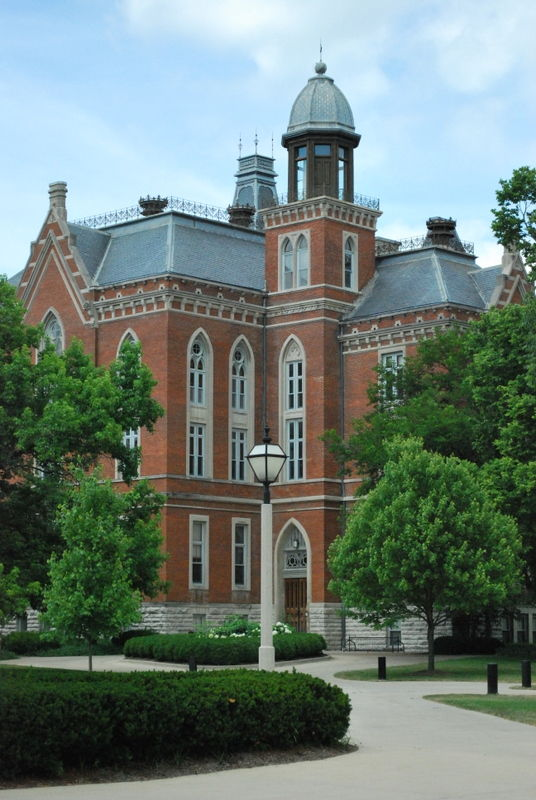 East College from the southeast