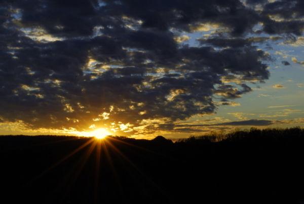 Finally the Sunset