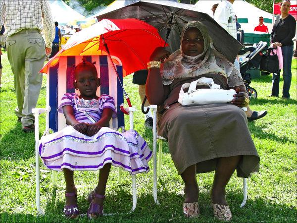 Grandma on Festival