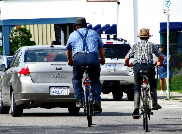 Ford and Bike