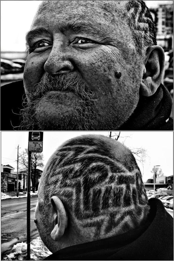 Stranger wanted his Portrait