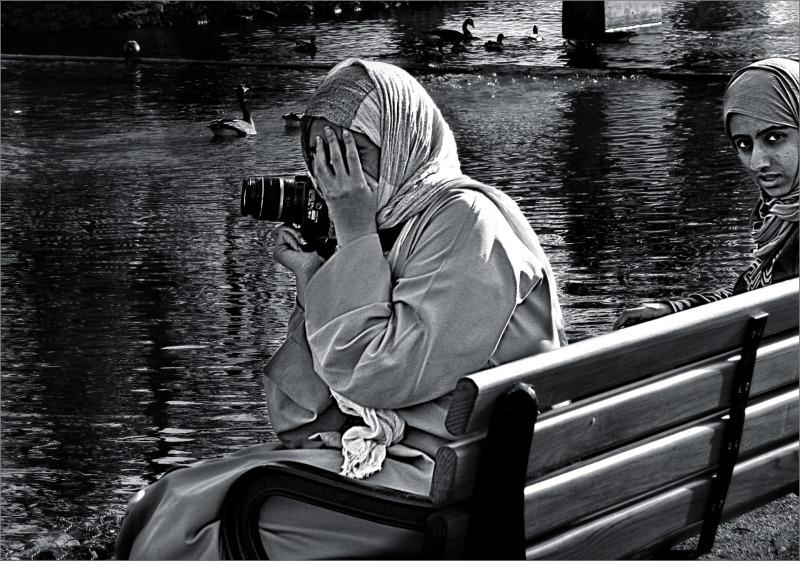 Camera Girl Camera Shy