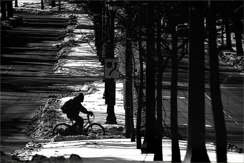 Wintertime Biking
