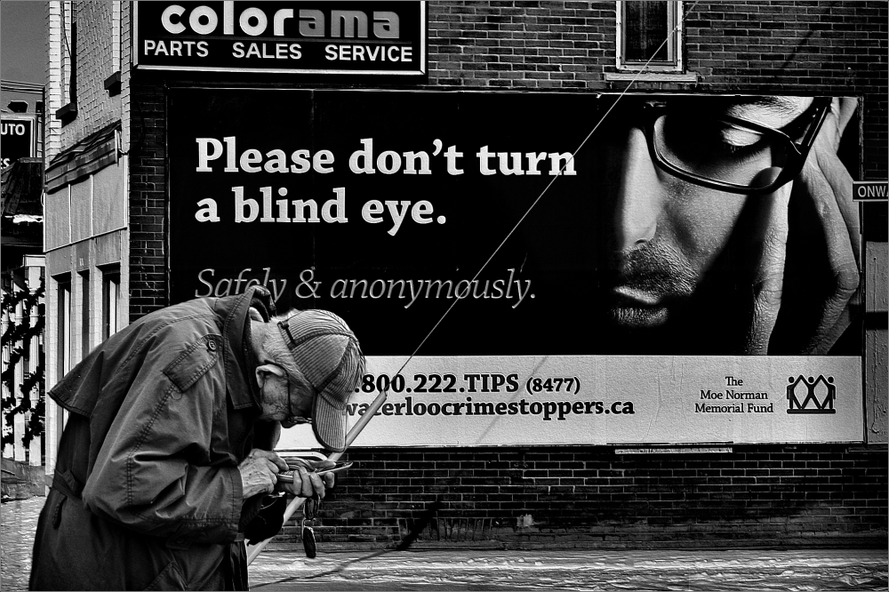 Don't Turn a Blind Eye