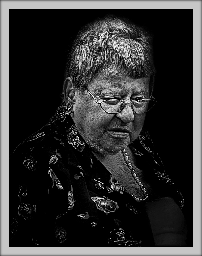 Portrait Old-woman