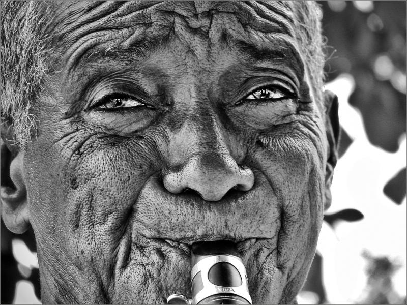 Cuba 2012 Don-Lupe clarinet Guardalavaca