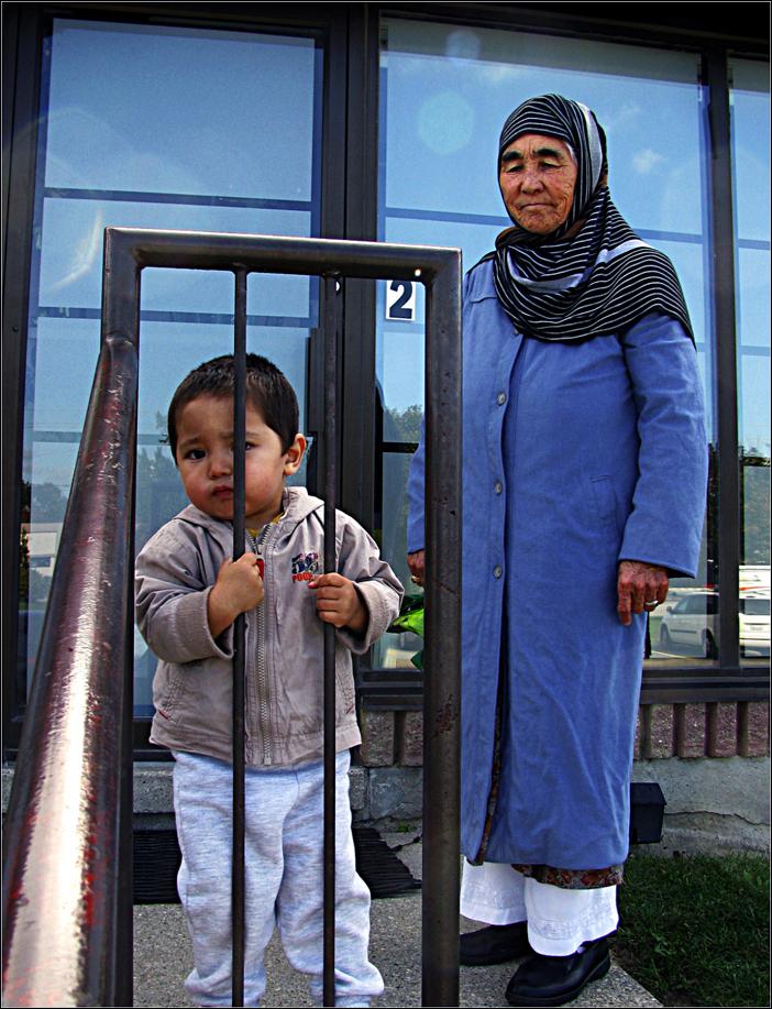 Afghan grandma