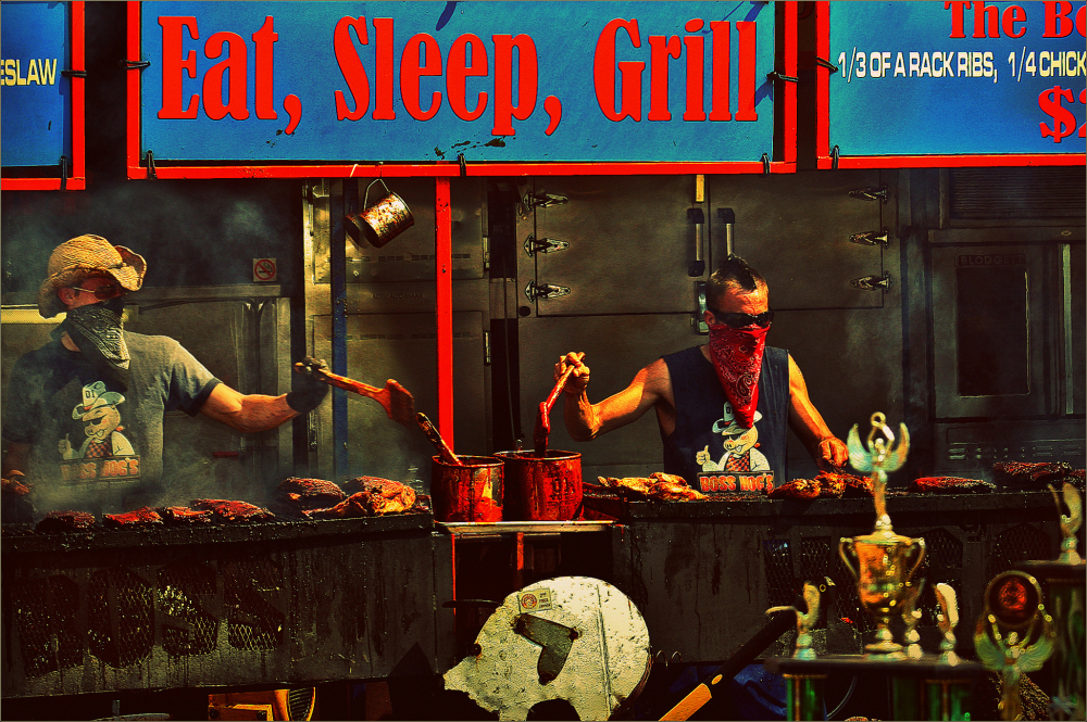 Eat, Sleep, Grill...
