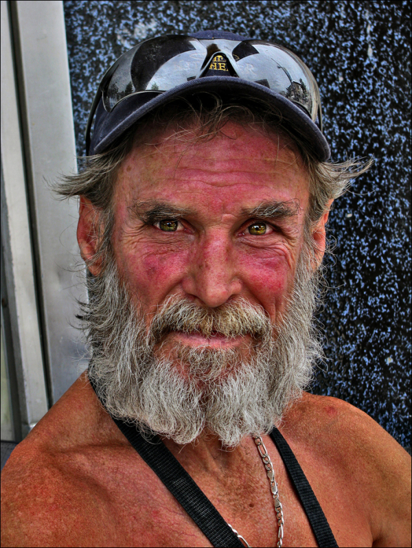 Burning Man Portrait
