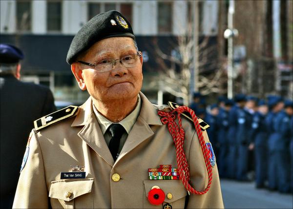 Remembrance Day Ceremony in Kitcheneri