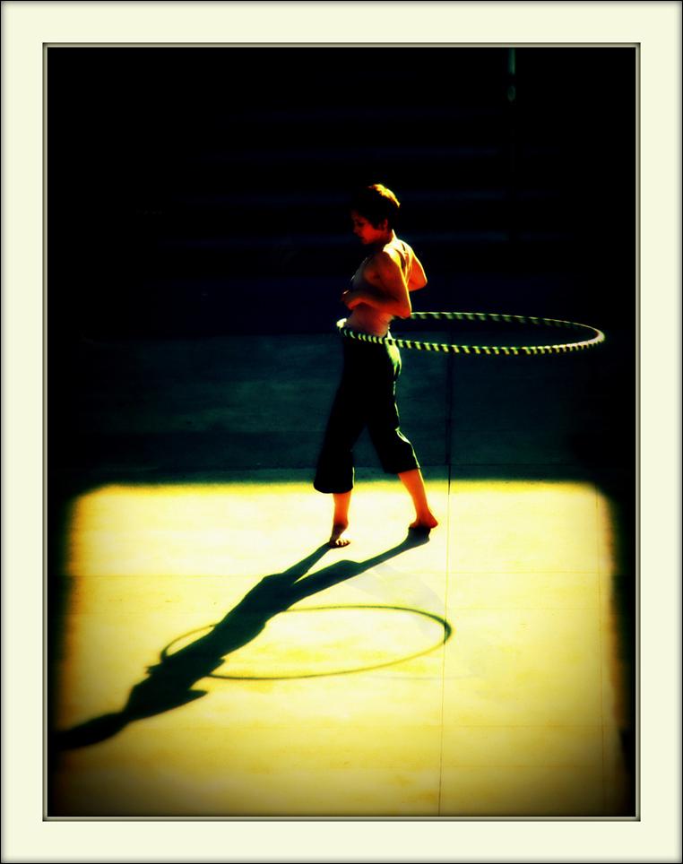 Hula Hoop Girl