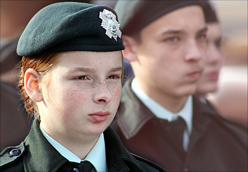 The child-soldiers of the Canadian army