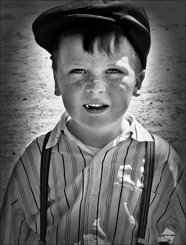 a boy portrait
