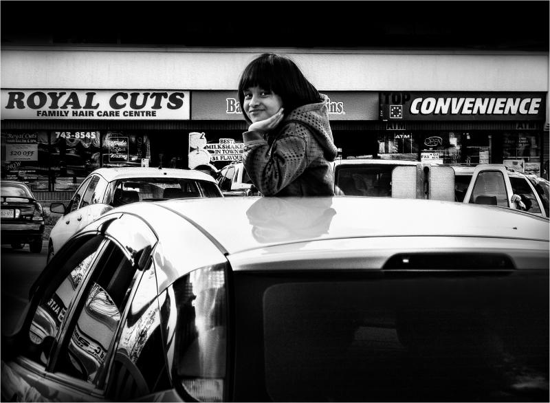 convenience car girl