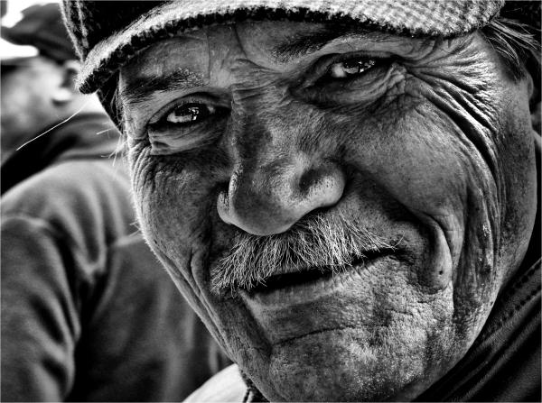 street portrait BW