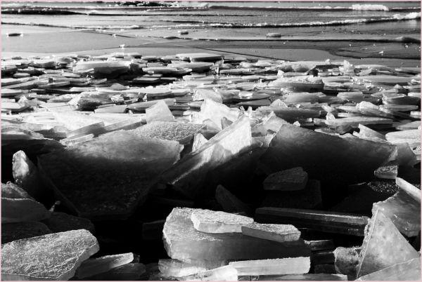 iced sea