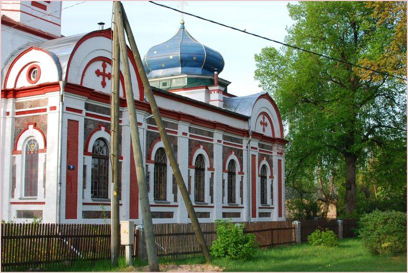 orthodox church in jaunjelgava