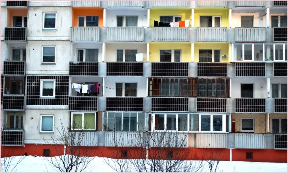 a block of flats in zolitūde riga
